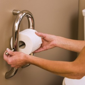 Toilet Paper-Grab Bar-Invisia-Health Craft
