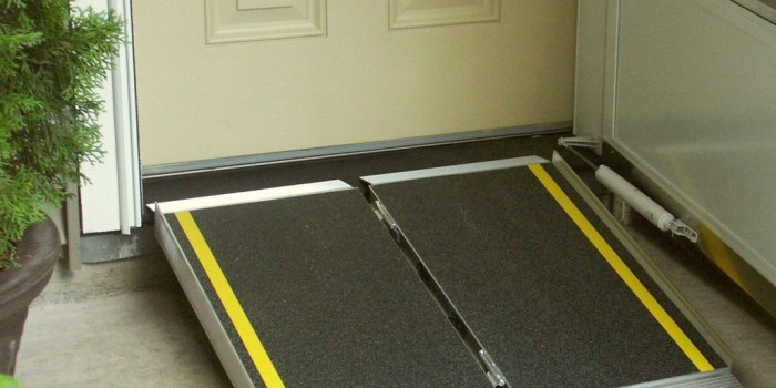 Maintain your independence and accessibility with a ramp or handrails.