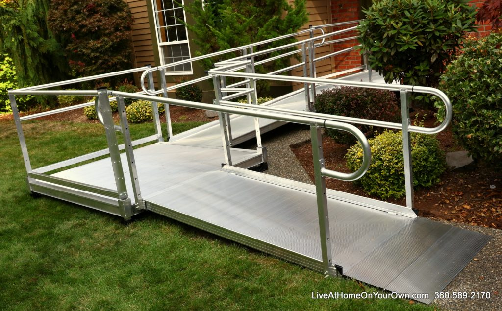 EZ Access-3G Pathway Single Line Handrail