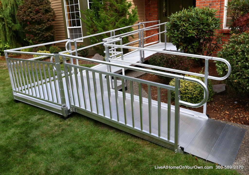 EZ Access-3G Pathway Vertical Picket Handrails