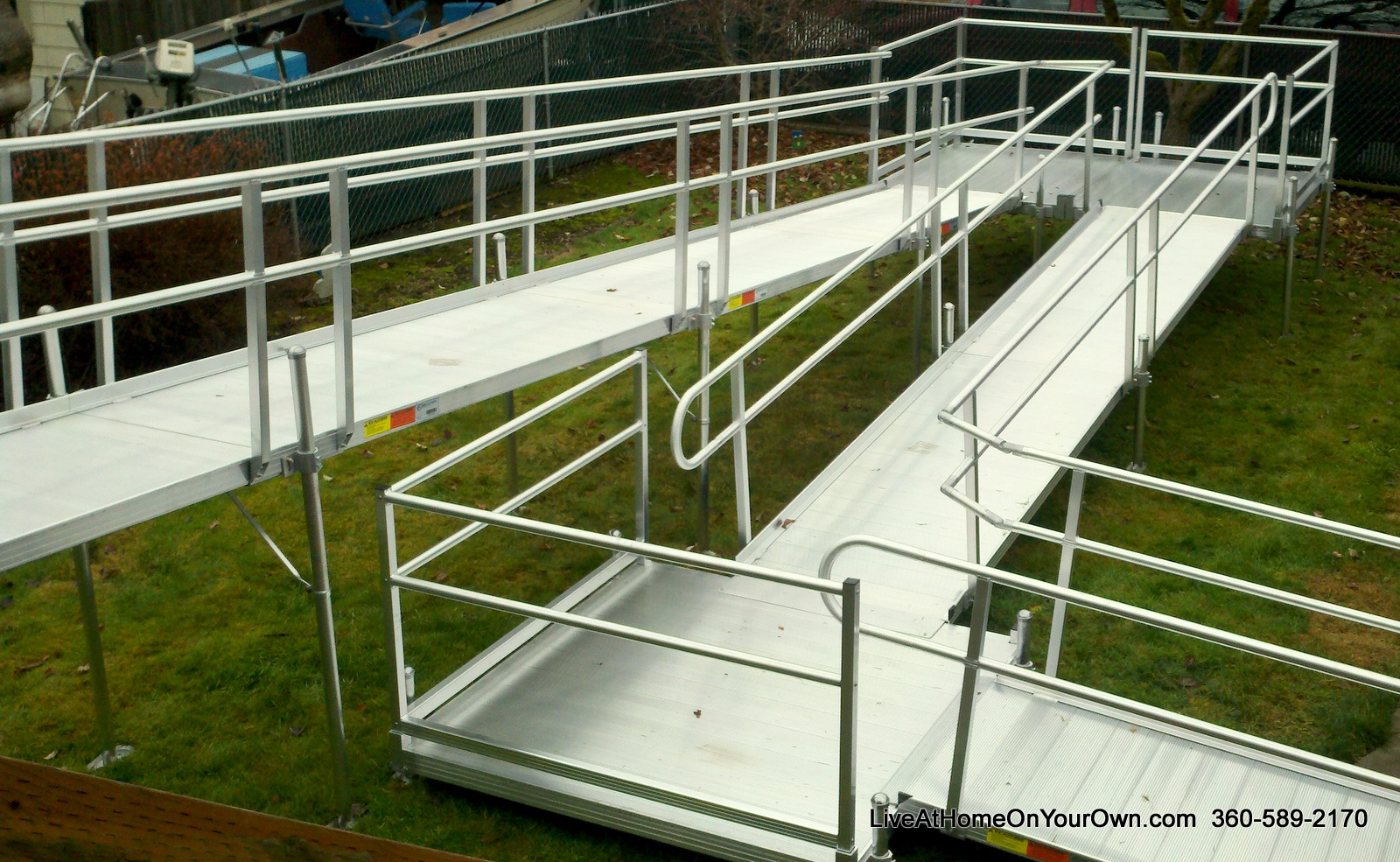 how to build a ramp for stairs