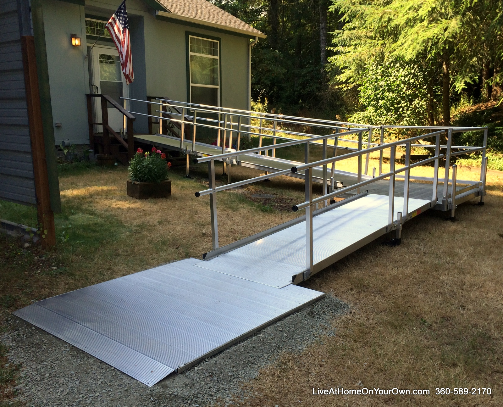 Maintain your independence and accessibility with a ramp or